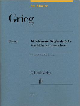 Henle Verlag Edvard Grieg Am Klavier - 15 bekannte Originalstücke