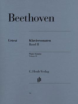 Henle Verlag Ludwig van Beethoven Klaviersonaten, Band II