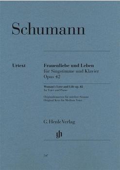 Henle Verlag Robert Schumann Frauenliebe und Leben op. 42