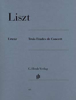 Henle Verlag Franz Liszt Trois Etudes de Concert