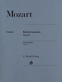 Henle Verlag Wolfgang Amadeus Mozart Klaviersonaten, Band I