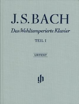 Henle Verlag Johann Sebastian Bach Das Wohltemperierte Klavier Teil I BWV 846-869
