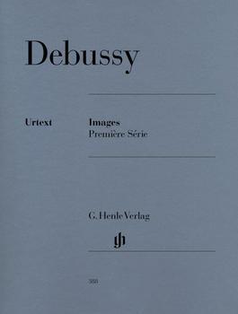 Henle Verlag Claude Debussy Images 1re série