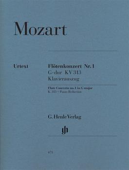 Henle Verlag Wolfgang Amadeus Mozart Flötenkonzert Nr. 1 G-dur KV 313