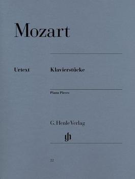 Henle Verlag Wolfgang Amadeus Mozart Klavierstücke