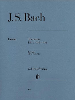 Henle Verlag Johann Sebastian Bach Toccaten BWV 910-916