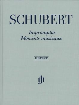 Henle Verlag Franz Schubert Impromptus und Moments musicaux