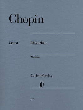 Henle Verlag Frédéric Chopin Mazurken