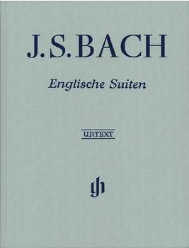Henle Verlag Johann Sebastian Bach Englische Suiten BWV 806-811