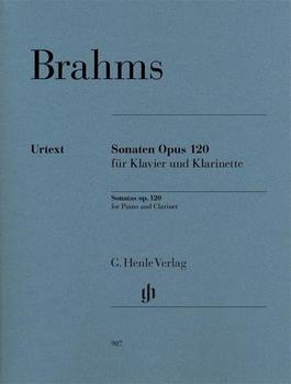 Henle Verlag Johannes Brahms Klarinettensonaten op. 120
