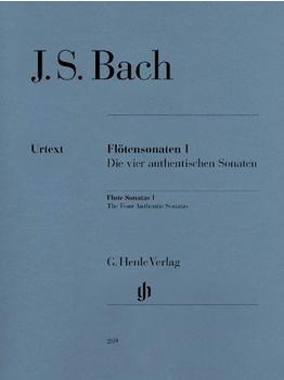 Henle Verlag Johann Sebastian Bach Flötensonaten, Band I (Die vier authentischen Sonaten)