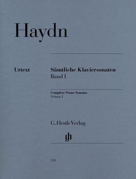 Henle Verlag Joseph Haydn Sämtliche Klaviersonaten, Band I