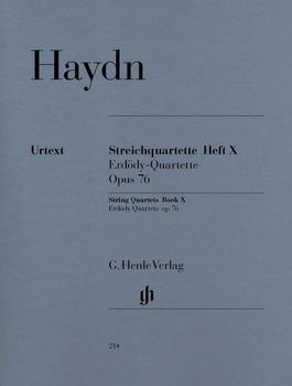 Henle Verlag Joseph Haydn Streichquartette Heft X op. 76 (Erdödy-Quartette)