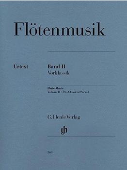 Henle Verlag Flötenmusik II Vorklassik