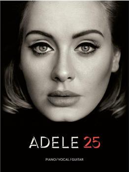 Music Sales Adele: 25, Songbook für Klavier, Gesang, Gitarre
