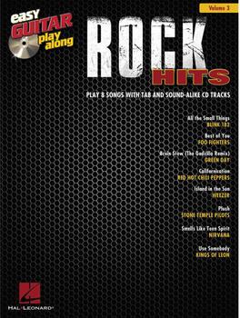 Hal Leonard Rock Hits Easy Guitar Play-Along Volume 3