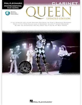 Hal Leonard Queen – Updated Edition Clarinet Instrumental Play-Along