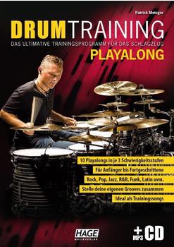 Hage Musikverlag Drum Training Playalong + MP3-CD