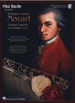 Hal Leonard Mozart Clarinet Concerto KV622