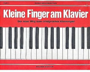 Edition Melodie Kleine Finger am Klavier Heft 1
