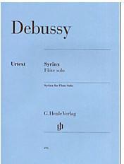 Henle Verlag Claude Debussy Syrinx - La flûte de Pan für Flöte solo