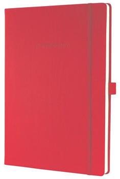 sigel CONCEPTUM A4 kariert Hardcover rot (CO644)