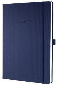 sigel CONCEPTUM A4 kariert Hardcover dunkelblau (CO646)
