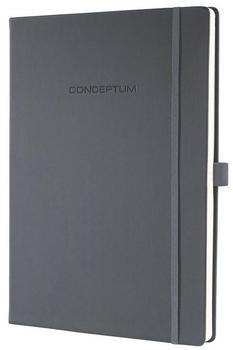 sigel CONCEPTUM A4 kariert Hardcover dunkelgrau (CO648)