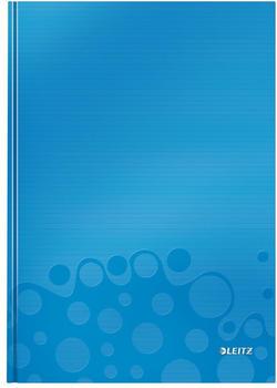 Leitz WOW A4 liniert fester Einband Blau (46251036)