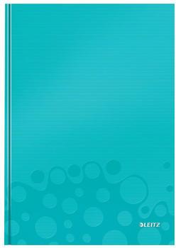Leitz WOW A4 kariert fester Einband Eisblau (46261051)