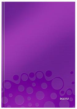 Leitz WOW A4 kariert fester Einband Violett (46261062)