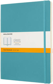 Moleskine Extra Large Soft Cover Ruled Notebook Blue