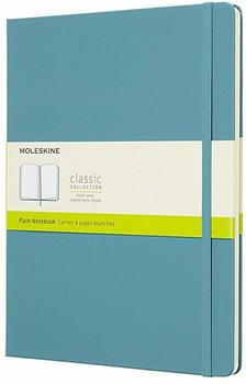 Moleskine Extra Large Soft Cover Plain Notebook Blue