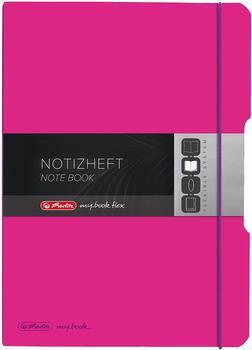 Herlitz my.book flex PP A4 2x40 liniert + kariertpink (11361474)
