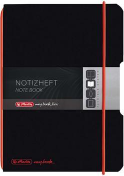 Herlitz my.book flex PP A5 40 kariert schwarz (11361557)