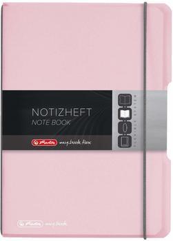Herlitz my.book flex PP A5 40 kariert rosé (11408622)