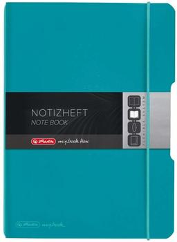 Herlitz my.book flex PP A5 40 kariert carib.turquoise (50015993)