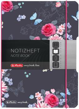 Herlitz flex PP A5 kariert Ladylike Flowers my.book (50021512)