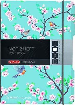 Herlitz flex PP A6 kariert Ladylike Birds my.book (50021529)