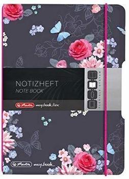 Herlitz flex PP A6 kariert Ladylike Flowers my.book (50021536)