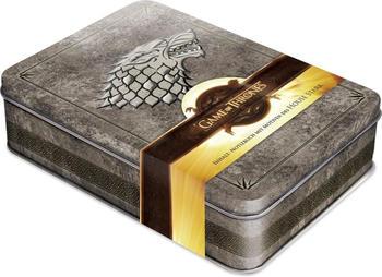 Naumann & Göbel Game of Thrones - Winter is Coming Schmuckdose inkl. Notizbuch mit Motiven des House Stark