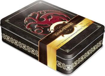 Naumann & Göbel Game of Thrones - Fire and Blood Schmuckdose inkl. Notizbuch mit Motiven des House Targaryen