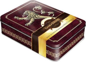 Naumann & Göbel Game of Thrones - Hear me Roar Schmuckdose inkl. Notizbuch mit Motiven des House Lannister