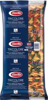 Barilla La Collezione Mezze Penne Tricolore (5kg)