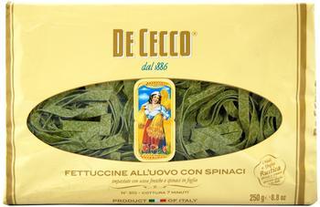 De Cecco Fettuccine con spinaci (500 g)