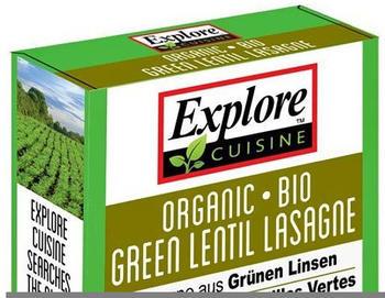 Explore Cuisine Lasagne aus grünen Linsen (250g)