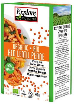 Explore Cuisine Bio Penne aus roten Linsen (250g)