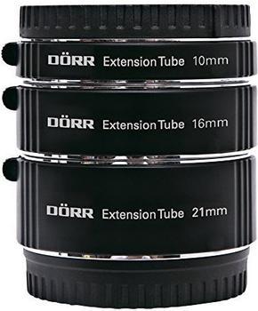 Dörr Zwischenringsatz 10/16/21mm Micro Four Thirds