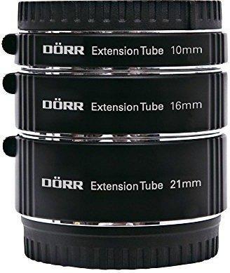 Dörr Zwischenringsatz 10/16/21mm Fujifilm X