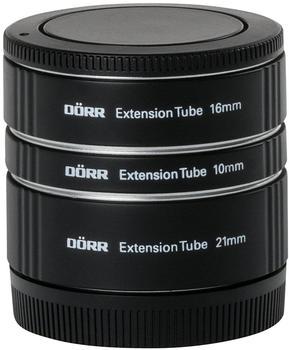 Dörr Zwischenringsatz 10/16/21mm Canon EF-M